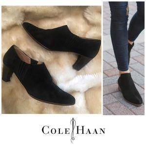 Vintage Cole Haan Suede Booties